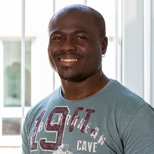 Martin Okeke (Employee Mister Spex, Workshop)