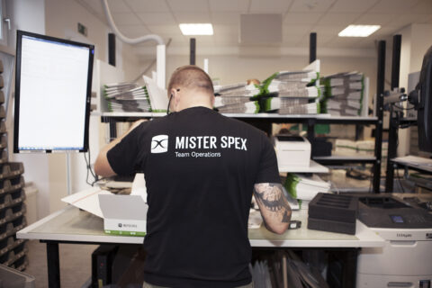 The logistics department of Mister Spex