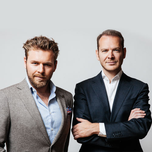 Phillip Joas (Former employee, Business Development) und Thilo Hardt (Founder Mister Spex), Founder www.ewings.com