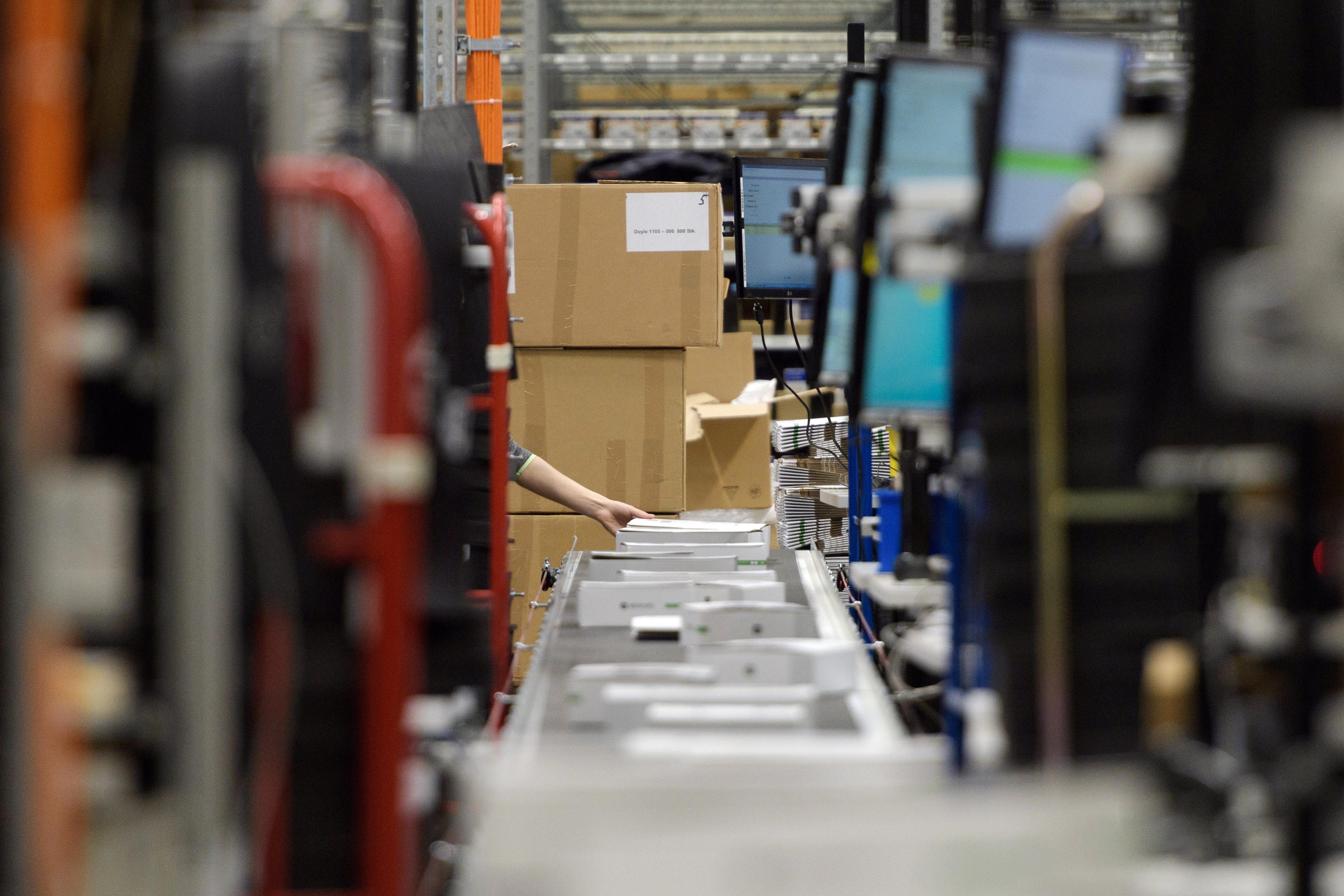 The logistics department of Mister Spex