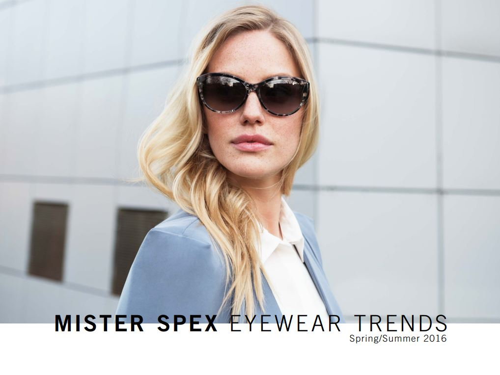 Mister Spex Lookbook Spring / Summer 2016
