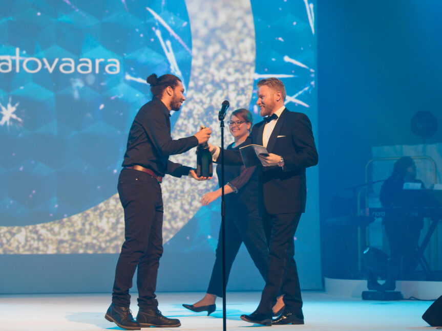 Mister Spex' Senior Executive Assistant in Finnland – Diana bei den Evento Awards 2017 in Helsinki