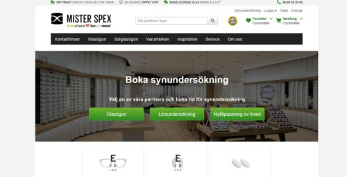 Weitere Expansion in Schweden: Mister Spex startet Partneroptiker-Programm und Kontaktlinsen-Abo