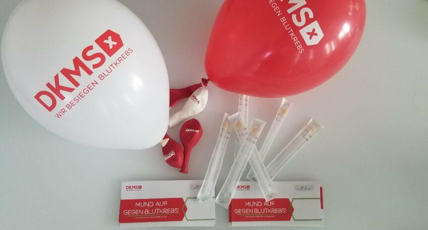 Gemeinsam sind wir stark: DKMS-Registrierungsaktion bei Mister Spex