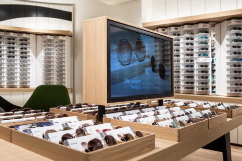 Innenansicht Mister Spex Store Düsseldorf
