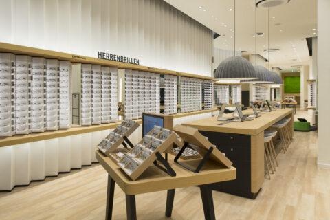 Innenansicht Mister Spex Store Dortmund