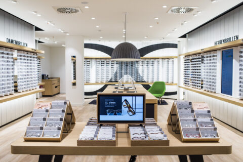 Inside View Mister Spex Store Köln / Rhein-Center