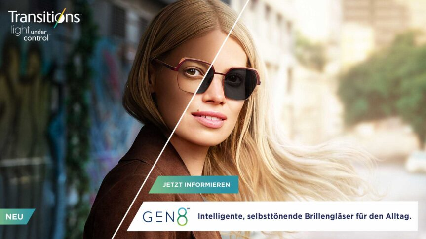 New in bei Mister Spex: Die neueste Generation intelligenter, selbsttönender Brillengläser