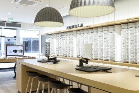 Innenansicht Mister Spex Store Göttingen