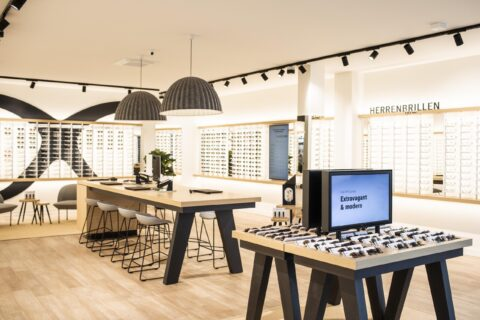 Innenansicht Mister Spex Store Osnabrück